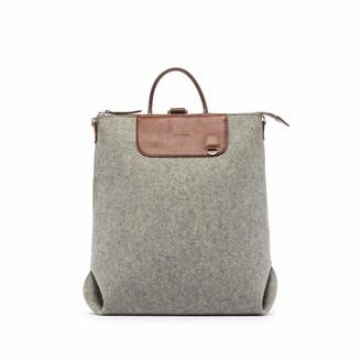 Graf Lantz Granite & Sienna Bedford Felt Backpack