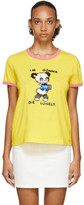 Marc Jacobs Yellow Magda Archer Edition The Collaboration T-Shirt