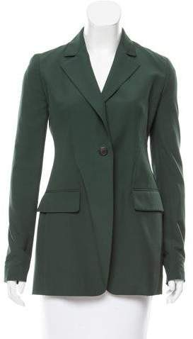 Christian Dior Fitted Woven Blazer