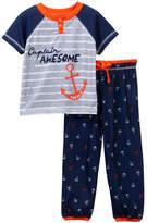 Nautica Captain Awesome 2-Piece Pajama (Toddler Boys)