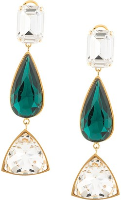 Shourouk Crystal Drop Earrings