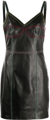 Kirin Fitted Stitched-Panel Dress