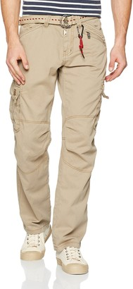 Timezone Men's Loose Benito Cargo Trousers