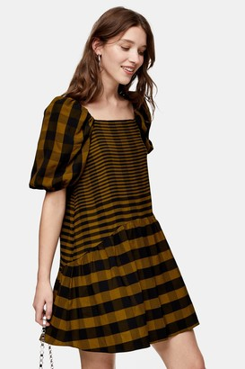 Topshop Check Mini Dress