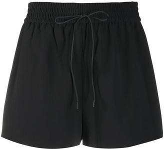 Alice + Olivia Drawstring-Waist Running Shorts