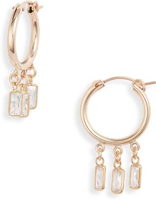 Set & Stones Samantha Hoop Earrings