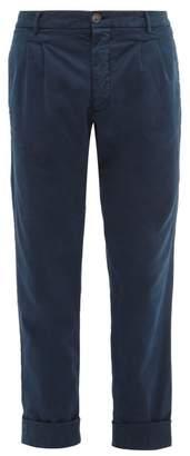 J.w.brine J.W. Brine J.w. Brine - New Marshall Cotton Chino Trousers - Mens - Navy