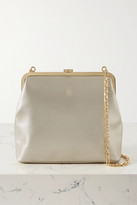 Mark Cross Susanna Metallic Textured-leather Shoulder Bag - Gold