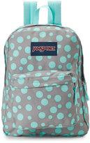 JanSport Grey & Mint Superbreak Backpack