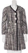 Marc Jacobs Long Sleeve Bouclé Coat