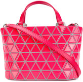 Bao Bao Issey Miyake crystal gloss mini crossbody bag - women - PVC - One Size