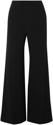 Emilia Wickstead Crepe Wide-leg Pants