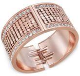 Thalia Sodi Crystal Hinged Bangle Bracelet, Only at Macy's