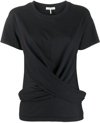 Rag & Bone twisted front T-shirt