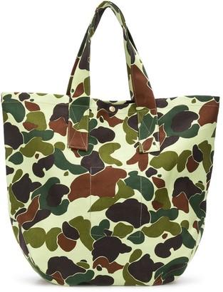 Junya Watanabe Camouflage Tote Bag