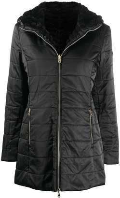 EA7 Emporio Armani Fitted Padded Jacket