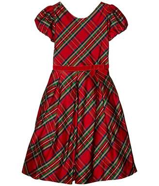 Janie and Jack Plaid Dressy Dress (Little Kids/Big Kids)