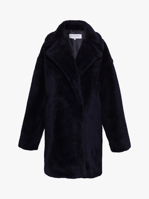 Gerard Darel Perrine Faux Fur Coat