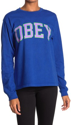 Obey Academic Crew Neck Pullover