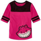 Disney Short Sleeve Round Neck Alice in Wonderland T-Shirt-Big Kid Girls