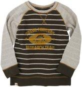 Hatley Raglan Sweater (Toddler/Kid) - Oatmeal/Melange-2