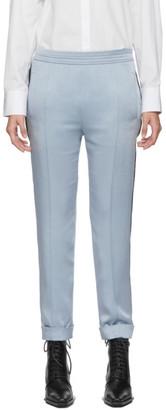 Haider Ackermann Blue Kuiper Elastic Waistband Trousers