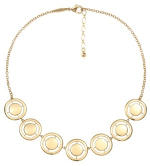 Trifari 14K Gold-Plated Collar Necklace