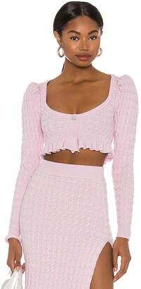 LPA Soren Cropped Sweater