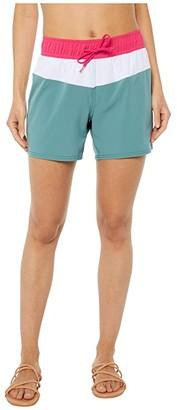 Roxy Sea Boardshorts (North Atlantic) Women's Swimwear
