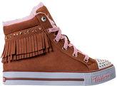 Skechers Girls' Preschool Twinkle Toes: Shuffles - Fringe Fabulous Casual Shoes