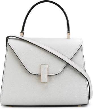Valextra foldover structured tote