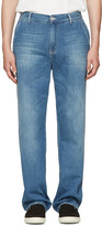 Our Legacy Blue Denim Chino Jeans