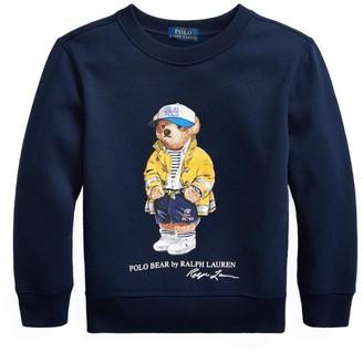 Ralph Lauren Kids Nautical Bear Sweatshirt (2-4 Years)