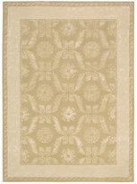 Nourison SYM08-099446023575 Symphony (SYM08) Gold Rectangle Area Rug