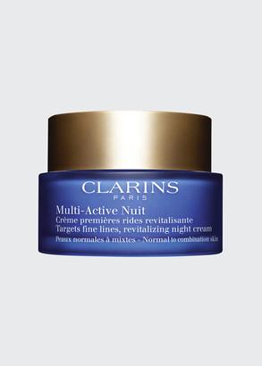 Clarins Multi-Active Night Cream, Normal to Combination Skin, 1.6 oz.