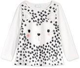 First Impressions Baby Girls' Long-Sleeve Graphic-Print T-Shirt, Only at Macy's