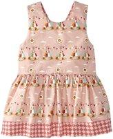 Little Green Radicals Teepee Diamond Dress (Baby) - Pink-3-6 Months