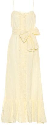 Lisa Marie Fernandez Striped cotton dress