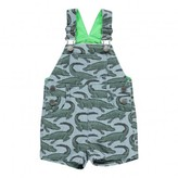 Stella McCartney Sale - Chester Crocodile Striped Dungaree Shorts