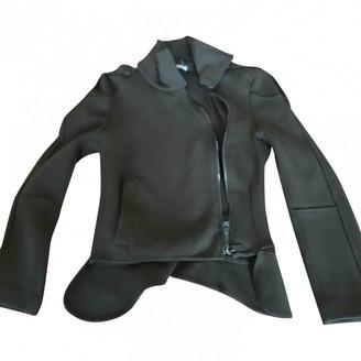 CNC Costume National Khaki Wool Jacket for Women