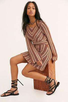 Free People Chiara Crochet Mini Dress
