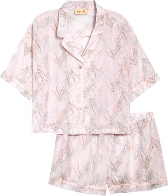 Papinelle Falling Blossom Short Pajamas