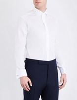 Ralph Lauren Purple Label Gingham tailored-fit cotton shirt