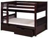 Camaflexi Camaflexi Twin Bunk Bed with Storage