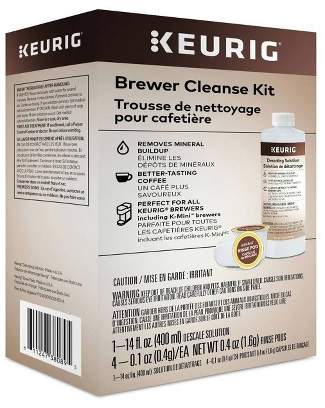 Keurig Brewer Cleanse Kit