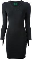 Jean Paul Gaultier Vintage fringed jersey dress