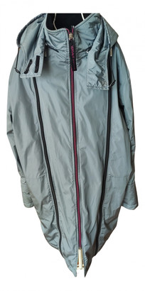 Versace Grey Polyester Jackets