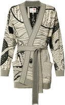 Ikiji - Hanten Hokusai Mandala cardigan - men - Cotton - M