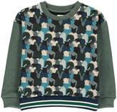 No Added Sugar Good Trip Animal Camouflage Sweatshirt