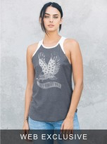 Junk Food Clothing Florida Georgia Line Raglan Tank-jb/ew-s